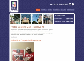 Protea Gardens Mall Website