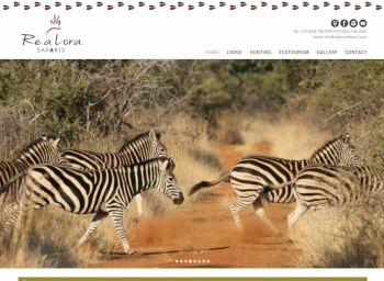 Re a Lora Safaris Website